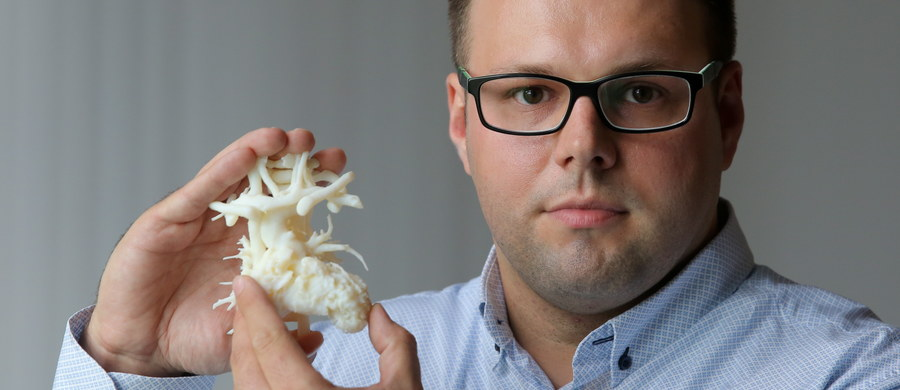 Programista informatyk Wojciech Wojtkowski z Elbląga stworzył trójwymiarowy model serca swego 11-miesięcznego chorego synka. Dzięki temu kardiochirurdzy mogą przygotować się do operacji serca chłopca, zaplanować jej etapy i przewidzieć efekty zabiegu.