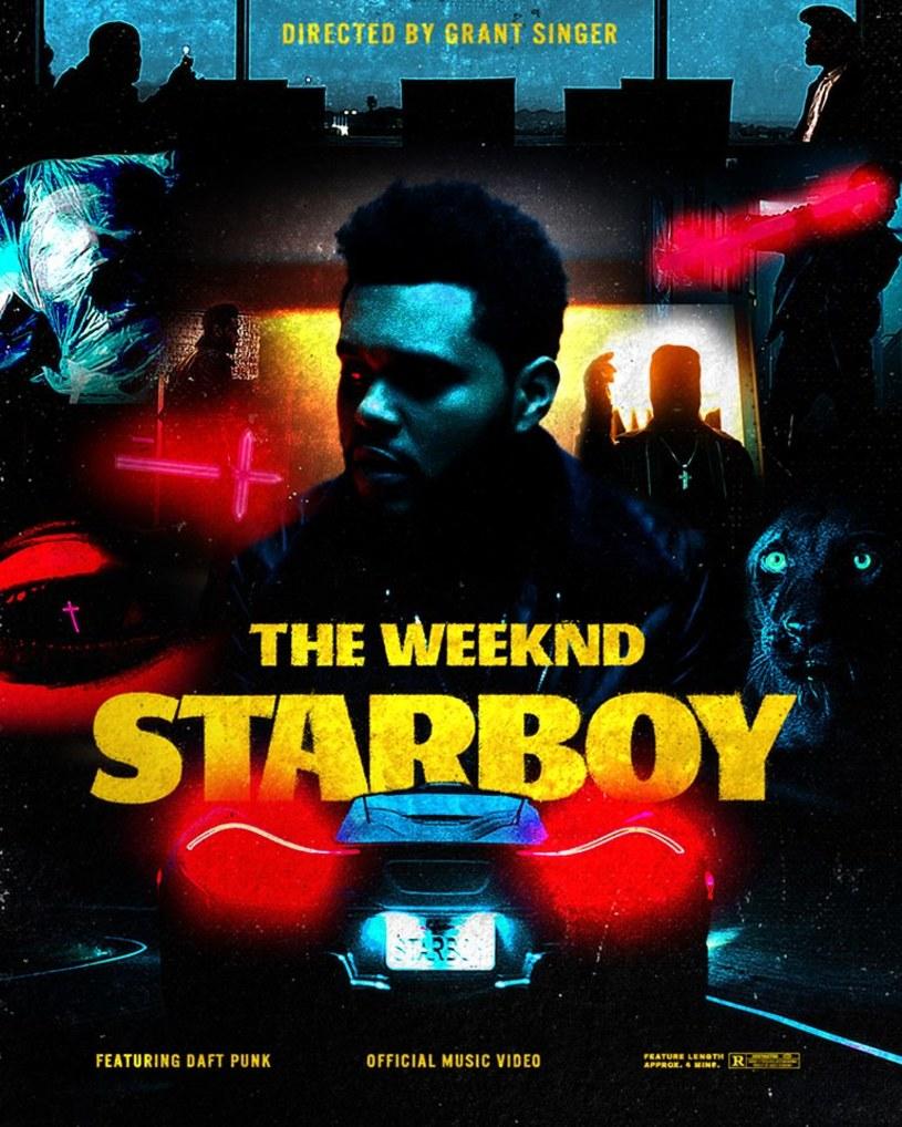 """Utwór """"Starboy"""" nagrany przez The Weeknd we współpracy z duetem Daft Punk w krótkim czasie zdobywa popularność idącą w miliony."""