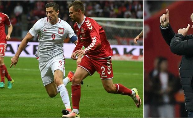 """""""W futbolu wszystko może się zmienić. Zmagaliśmy się z kłopotami w pierwszych 45 minutach, ale pamiętając mecz Polski z Kazachstanem, liczyliśmy na odrobienie dwubramkowej straty. Mieliśmy swoje szanse w drugiej połowie, ale trudno jest walczyć przy wyniku 0:3"""" - przyznał reprezentant Danii Thomas Delaney po przegranej z biało-czerwonymi 2:3 w meczu eliminacji MŚ 2018. Duńczycy byli wyraźnie pod wrażeniem Roberta Lewandowskiego, który zaliczył w tym spotkaniu hattricka. """"To świetny wzór do naśladowania dla napastników"""" - mówił Viktor Fischer."""