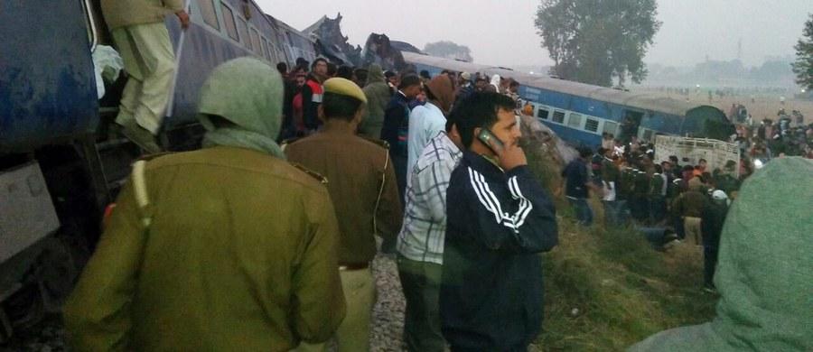 Co najmniej 119 osób zginęło, a ponad 150 zostało rannych w katastrofie kolejowej na północy Indii - poinformowała lokalna policja. Na miejscu trwa akcja ratunkowa.