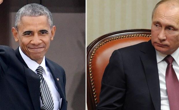 Przy okazji szczytu państw Wspólnoty Gospodarczej Azji i Pacyfiku (APEC) w Limie doszło w niedzielę do krótkiego spotkania prezydentów Rosji i USA - Władimira Putina i Baracka Obamy. Rozmawiali o Ukrainie i Syrii - poinformowały Biały Dom i Kreml. Według Białego Domu rozmowa trwała około czterech minut.