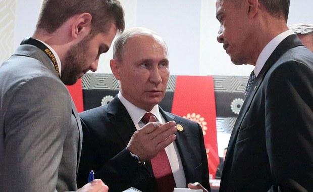 """""""Bez względu na to, iż dialog bywał czasami niełatwy, a czasami było wręcz trudno współpracować, to odnosiliśmy się z szacunkiem do siebie i do stanowiska, jakie zajmowaliśmy"""" – powiedział prezydent Rosji Władimir Putin o prezydencie USA Baracku Obamie. Występując podczas konferencji prasowej w kuluarach szczytu APEC kończącego się w stolicy Peru Limie, prezydent Rosji Władimir Putin podziękował Barackowi Obamie za lata współpracy."""