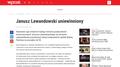 Janusz Lewandowski uniewinniony - WPROST.pl