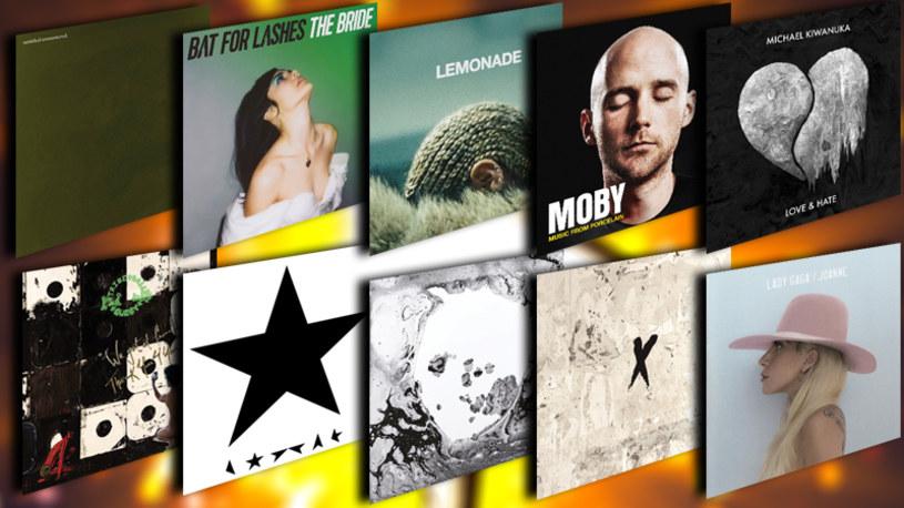 Poniżej znajdziecie zestawienie najlepiej ocenionych przez recenzentów Interii płyt ze świata z 2016 r.