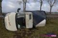 Cieszyce: Cztery auta zderzyły się z powodu wiatru