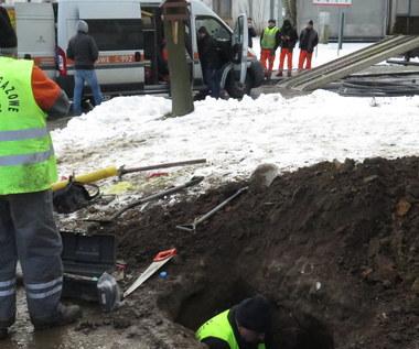 Wieliczka: Ewakuacja szkoły z powodu uszkodzonego gazociągu