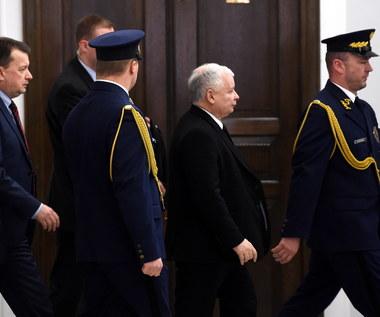 Kaczyński: Blokowanie mównicy to przestępstwo przeciwko państwu