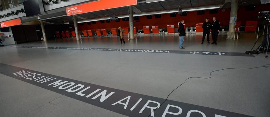 Awaryjne lądowanie awionetki na lotnisku w podwarszawskim Modlinie. Informację z Gorącej Linii RMF FM potwierdziły nam służby na lotnisku.