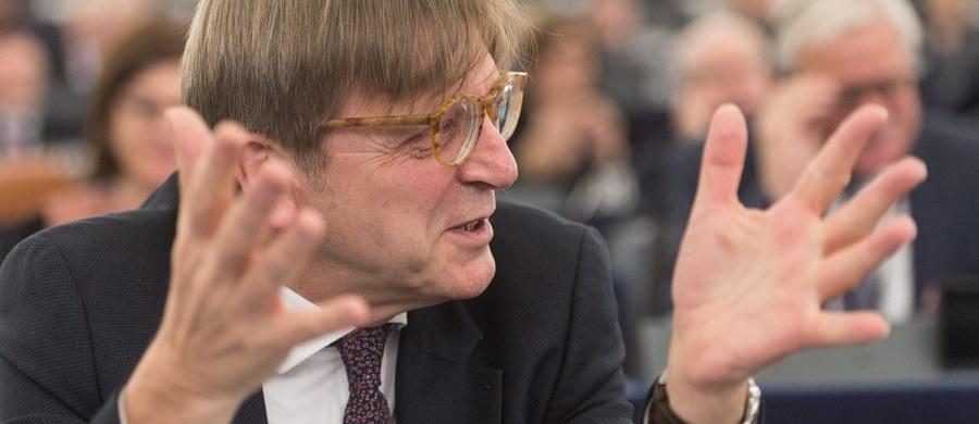 Verhofstadt - może się okazać drugim największym zwycięzcą głosowania w PE? Jego cyniczna rezygnacja z kandydowania oznacza tylko jedno: gra o większą stawkę. Dla siebie i dla swojej grupy.
