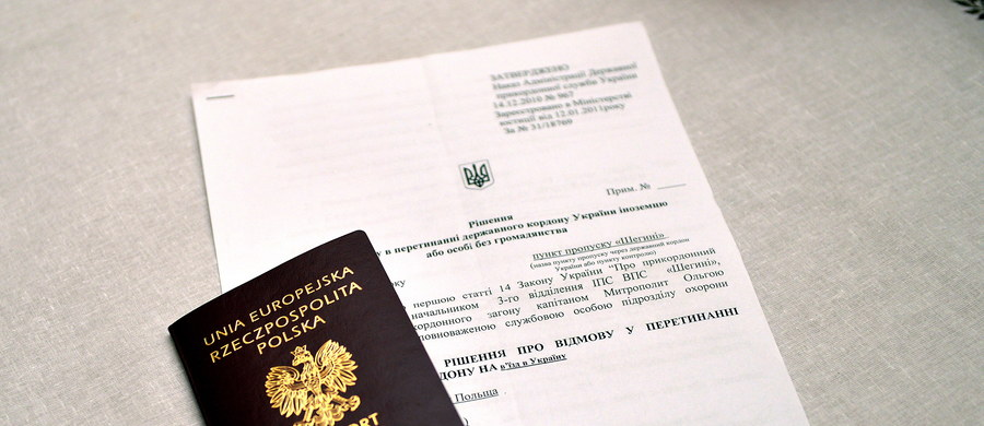 Zakaz wjazdu na Ukrainę dla prezydenta Przemyśla Roberta Chomy to wynik jego działalności antyukraińskiej - powiedziała rzeczniczka Służby Bezpieczeństwa Ukrainy (SBU) Ołena Hitlanska. Ambasada RP wystosowała notę i oczekuje oficjalnej reakcji strony ukraińskiej w tej sprawie.