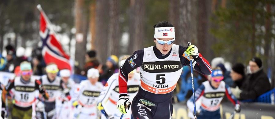 Marit Bjoergen, wielokrotna mistrzyni olimpijska i świata, wygrała w sobotę w Lygna narciarski bieg łączony na dystansie 2x7,5 km podczas mistrzostw Norwegii z przewagą prawie półtorej minuty nad Heidi Weng. Trzecia była Maiken Caspersen Falla.