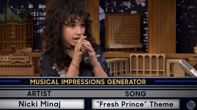 20-letnia wokalistka Alessia Cara w programie Jimmy'ego Fallona pokazała próbkę swoich możliwości wokalnych.