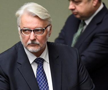 Waszczykowski do opozycji: Nie będzie jak było
