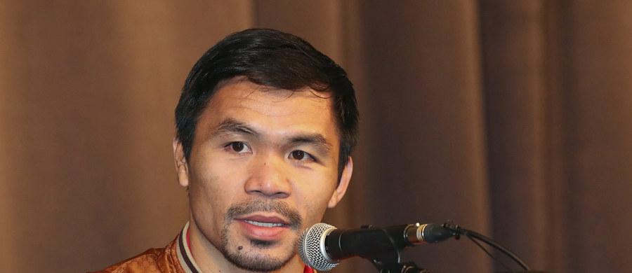 Słynny filipiński bokser Manny Pacquiao postanowił, że kolejnego rywala wybiorą mu... kibice. W głosowaniu okazało się, że przeciwnikiem będzie Brytyjczyk pakistańskiego pochodzenia Amir Khan, wicemistrz olimpijski z Aten.