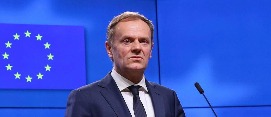 """Publikacja dziennika """"Financial Times"""" według której prezes PiS miał w rozmowie z kanclerz Niemiec Angelą Merkel zasugerować, że Polska może wystawić europejski nakaz aresztowania wobec szefa RE Donalda Tuska to """"kompletna bzdura"""" - skomentował wicepremier Jarosław Gowin."""