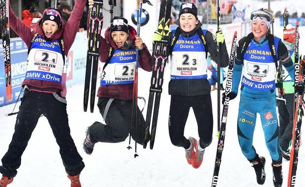 Magdalena Gwizdoń, Monika Hojnisz, Kinga Mitoraj i Krystyna Guzik zajęły siódme miejsce w rywalizacji sztafet 4x6 kilometrów w biathlonowych mistrzostwach świata w Hochfilzen. Wygrały Niemki przed Ukrainkami i Francuzkami.