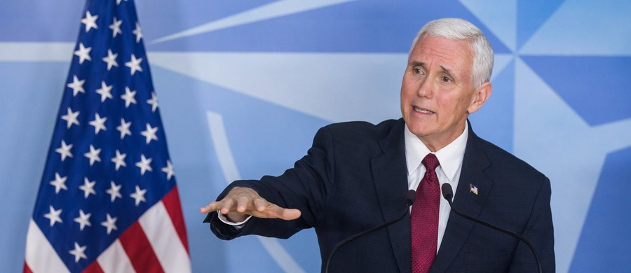 Prezydent Donald Trump oczekuje od sojuszników w NATO rzeczywistych postępów w sprawie zwiększenia wydatków na obronność do końca 2017 roku - powiedział wiceprezydent USA Mike Pence na konferencji prasowej w kwaterze głównej Sojuszu w Brukseli.