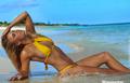 Gwiazdy tenisa w bikini. Wideo