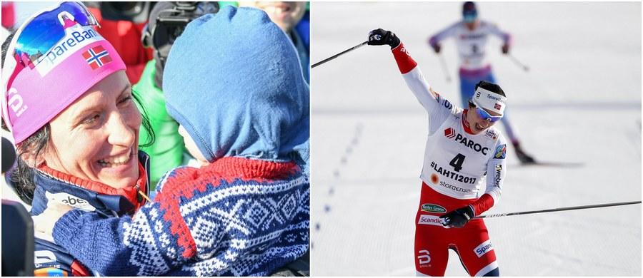 Marit Bjoergen wraca na szczyt! Norweżka wywalczyła w fińskim Lahti złoty medal mistrzostw świata w biegu łączonym 7,5+7,5 km. To jej piętnasty triumf w zawodach tej rangi: takim wyczynem nie może pochwalić się żadna inna zawodniczka!