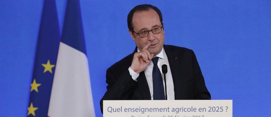 """Prezydent Francji Francois Hollande zareagował na wypowiedź Donalda Trumpa, w której prezydent USA cytował swego przyjaciela utrzymującego, że """"Paryż nie jest już Paryżem"""" po atakach islamistów. Francuski przywódca powiedział, że Trump powinien wspierać sojuszników USA i nie jest dobrze, gdy sojusznicy przejawiają wobec siebie nieufność, podejrzliwość."""