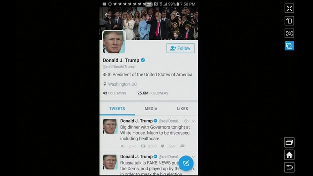 """Prowadzący galę rozdania Oscarów Jimmy Kimmel wyznał w pewnym momencie, że czuje się zaniepokojony. - Gala trwa już tak długo, a prezydent Trump nic o nas nie napisał - powiedział, pokazując do kamery, że na Twitterze prezydenta nic się nie dzieje. - Martwię się o niego - dodał prowadzący. Następnie zatwittował do Trumpa: """"Śpisz?"""", a później dodał wpis z hasztagiem """"Meryl mówi cześć"""", nawiązując do konfliktu prezydenta z aktorką. Najpierw ona skrytykowała Trumpa odbierając Złoty Glob za całokształt twórczości, w odpowiedzi on nazwał ją """"Najbardziej przereklamowaną aktorką"""". Niestety, prezydent nie odpowiedział na zaczepki prowadzącego."""