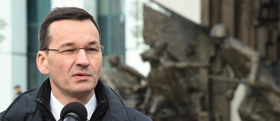 """""""Całkowity zakaz handlu w niedzielę nie wchodzi w grę, ale jestem za jego ograniczeniem"""" - mówi reporterowi RMF FM Mateusz Morawiecki. Wicepremier nie popiera projektu ustawy związkowców z Solidarności, którzy domagają się zamknięcia sklepów we wszystkie niedziele."""