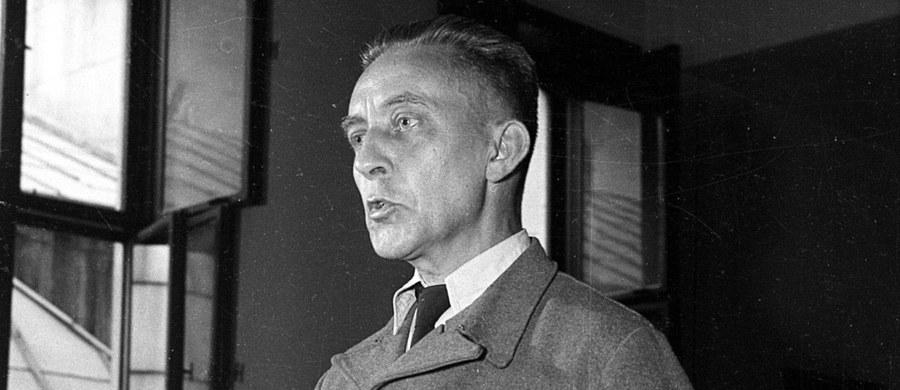 """65 lat temu, 6 marca 1952 roku, w więzieniu mokotowskim w Warszawie powieszony został Jürgen Stroop - kat warszawskiego getta, odpowiedzialny za śmierć dziesiątek tysięcy Żydów. W uzasadnieniu wyroku skazującego Stroopa na śmierć napisano m.in.: """"Czyny jego świadczą, iż jest on osobnikiem wyzutym z wszelkich ludzkich uczuć, katem faszystowskim, pastwiącym się nad swoimi ofiarami, którego całkowita eliminacja ze społeczeństwa ludzkiego jest konieczna""""."""