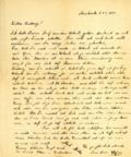 Przekazano list esesmana z Auschwitz