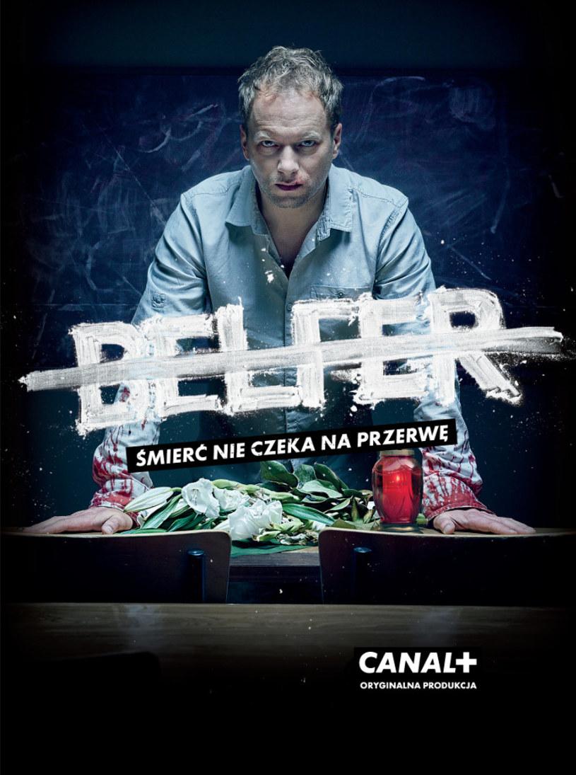 """17 marca serial """"Belfer"""" trafi na płyty DVD."""