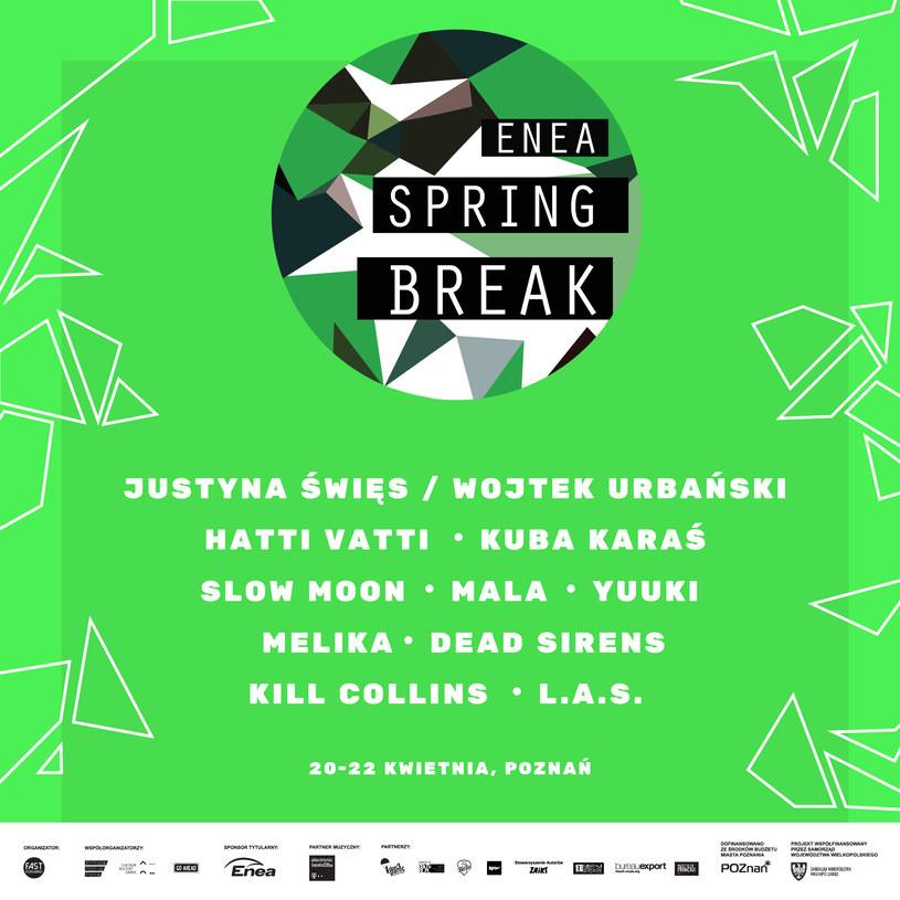 Kolejnych dziesięciu wykonawców dołącza do składu Enea Spring Break. Na festiwalu zagrają m.in. Justyna Święs z Wojtkiem Urbańskim, Kuba Karaś i Hatti Vatti. Kto jeszcze?