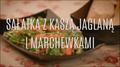Sałatka z kaszą jaglaną i marchewkami