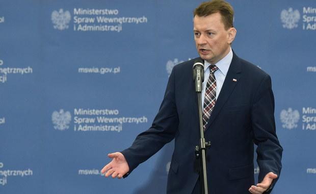 Szef MSWiA Mariusz Błaszczak nie spotkał się z komisarzem UE ds. migracji i spraw wewnętrznych Dimitrisem Avramopoulosem w związku z naradą kierownictwa PiS - podał resort spraw wewnętrznych. Komisarz odrzucił propozycję spotkania z wiceministrem.