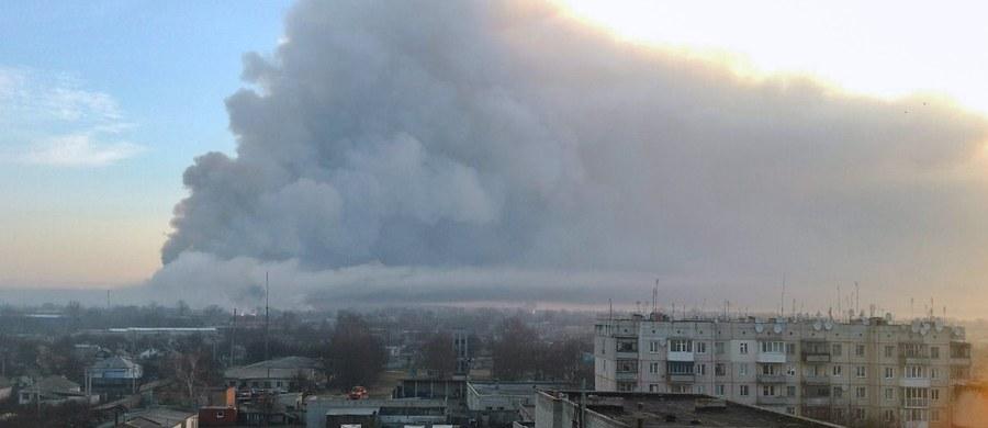 Pożar w największych na Ukrainie składach amunicji w pobliżu miasta Bałaklija w obwodzie charkowskim, na wschodzie kraju, został ugaszony - oświadczył wiceminister obrony Ukrainy Ihor Pawłowski.