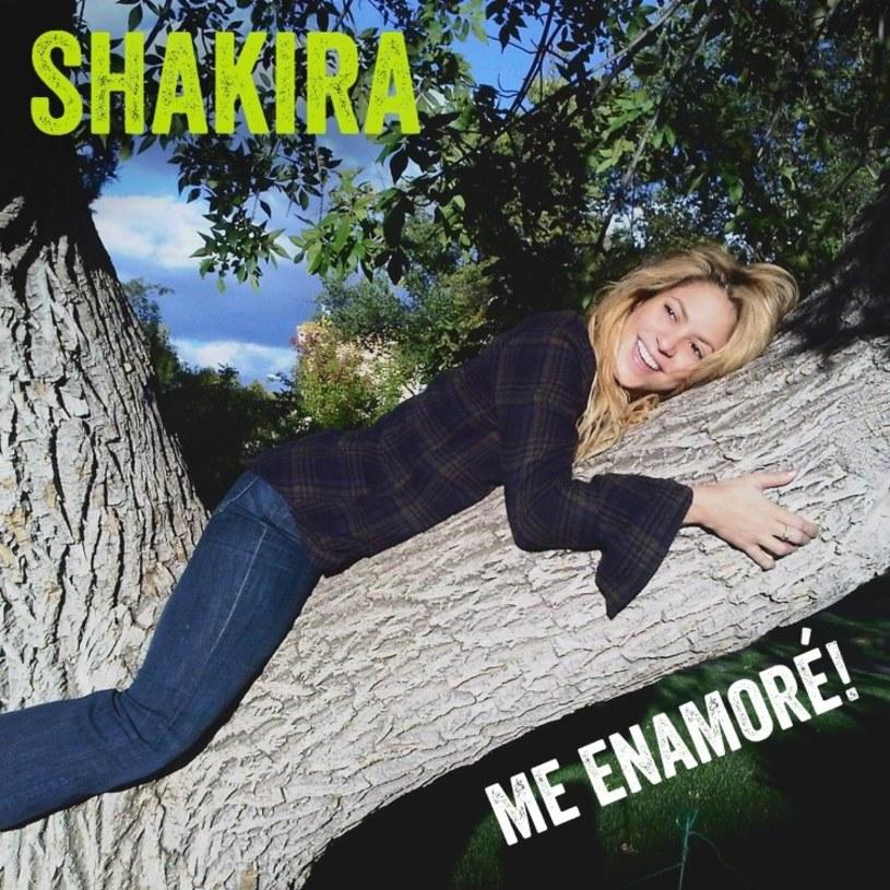 """Ponad 4,8 mln odtworzeń ma już najnowsza piosenka Shakiry. """"Me Enamoré"""" kolumbijska wokalistka zadedykowała swojemu mężowi - piłkarzowi Barcelony Gerardowi Piqué."""