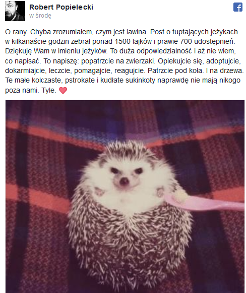 . /Fot. Facebook /