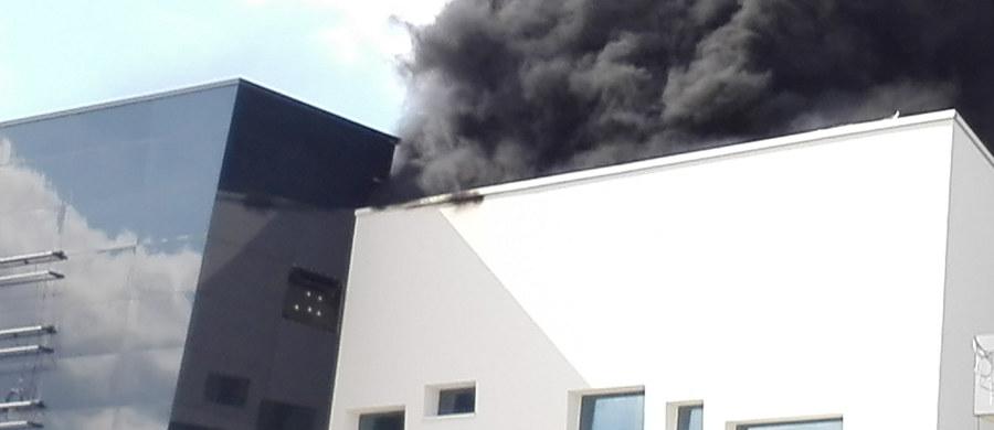 Strażacy ugasili pożar na budowie centrum handlowego przy ul. Światowida w Warszawie. Informację o pożarze i zdjęcia z miejsca zdarzenia dostaliśmy na Gorącą Linię RMF FM.