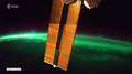 Niezwykłe zdjęcia zorzy polarnej widzianej ze stacji kosmicznej