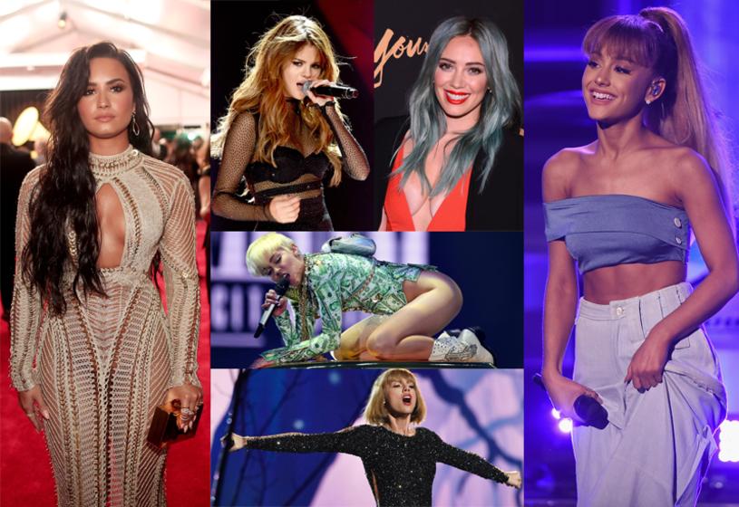 Choć wszystkie mają status gwiazdy, w dorobku wielkie przeboje, a na koncie grube miliony, to żadna z nich nie skończyła jeszcze trzydziestki. Która z amerykańskich wokalistek jest waszą ulubioną?