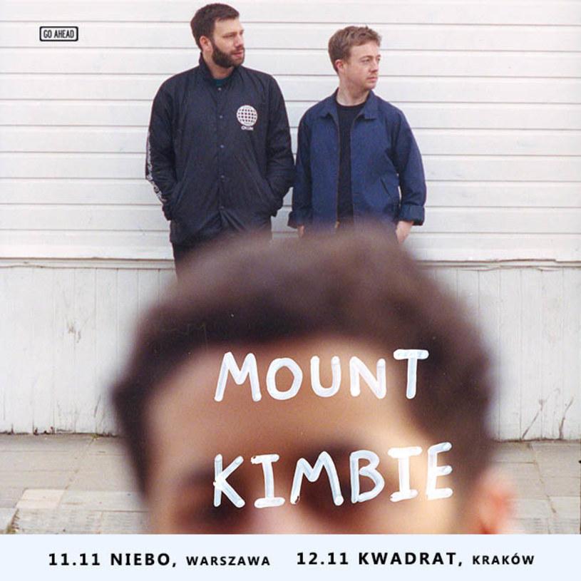 Londyński duet Mount Kimbie dwukrotnie wystąpi w Polsce. Koncerty odbędą się 11 listopada w warszawskim klubie Niebo i 12 listopada w krakowskim Kwadracie.