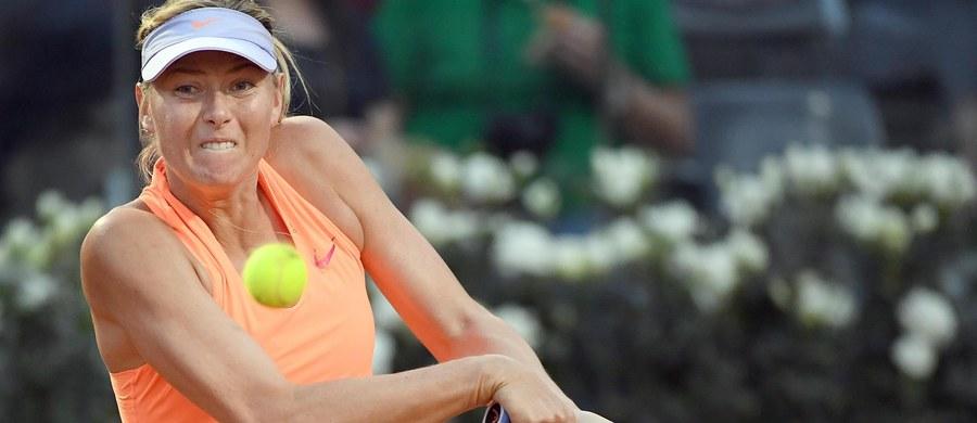 """Powracająca po 15-miesięcznej dyskwalifikacji za doping Maria Szarapowa zapowiedziała, że nie będzie się ubiegać o """"dziką kartę"""" na wielkoszlemowy turniej tenisowy na trawiastych kortach w Wimbledonie. Rosjanka wystartuje w kwalifikacjach imprezy."""