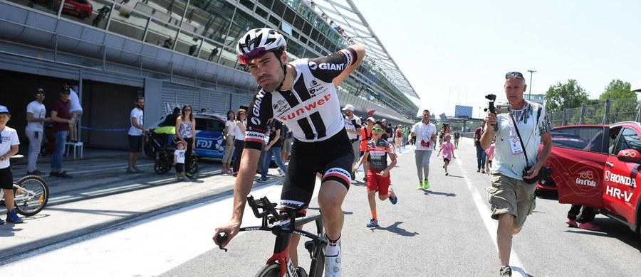 Tom Dumoulin (Sunweb) zwyciężył w 100. edycji kolarskiego Giro d'Italia i został pierwszym holenderskim triumfatorem tego wyścigu. Ostatni, 21. etap - jazdę indywidualną na czas z Monzy do Mediolanu (29,3 km) - wygrał jego rodak Jos van Emden (LottoNL).
