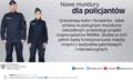 Nowe mundury dla policjantów