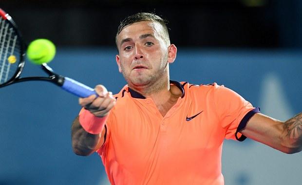 """50. w światowym rankingu tenisistów Brytyjczyk Dan Evans miał pozytywny wynik testu antydopingowego na obecność kokainy w organizmie. Próbkę pobrano od 27-letniego zawodnika w kwietniu. """"Popełniłem błąd i muszę się z tym zmierzyć"""" - przyznał."""