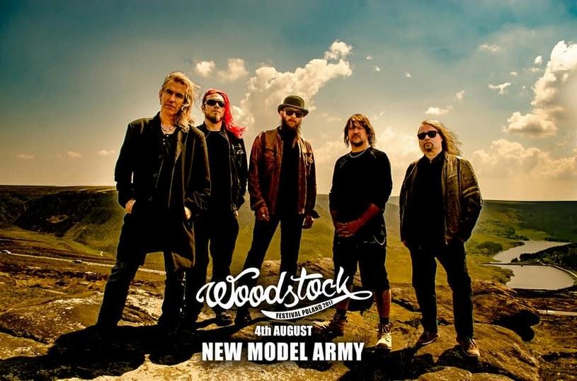 New Model Army zagra na Dużej Scenie 23. Przystanku Woodstock. Z kolei Bartłomiej Topa i Łukasz Kościuczuk będą gośćmi Akademii Sztuk Przepięknych.