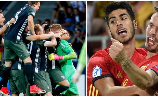 Hiszpania po raz piąty albo Niemcy po raz drugi w historii - jeden z tych zespół wywalczy dziś w Krakowie piłkarskie mistrzostwo Europy do lat 21. Początek finału z udziałem wielu znanych w Europie zawodników o godz. 20.45 na stadionie Cracovii.