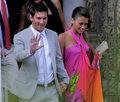 Gwiazdy zjeżdżają na ślub Lionela Messiego. Wideo