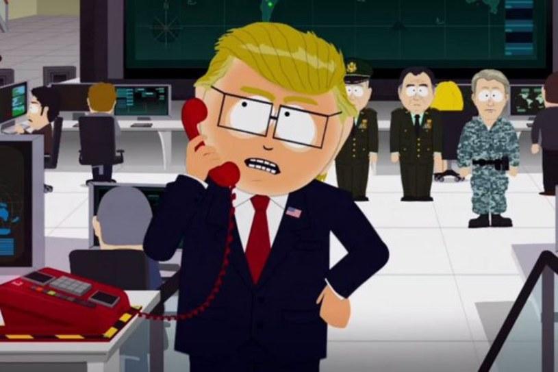 """Trey Park, twórca kultowej serii animowanej """"South Park"""", powiedział, że częściowo rezygnuje z żartów na temat prezydenta USA Donalda Trumpa."""