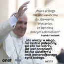 Sen z błogosławieństwem Papieża,co oznacza?