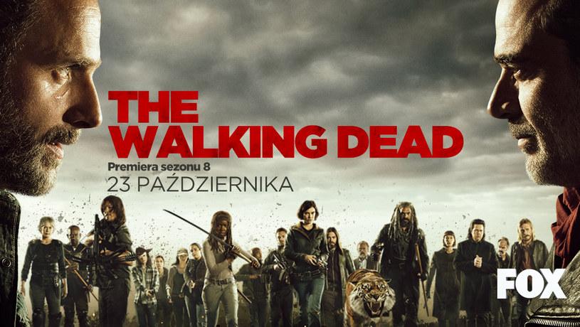 """Międzynarodowa premiera ósmego sezonu serialu """"The Walking Dead"""" odbędzie się 23 października 2017."""