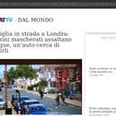 """Corriere della sera  i """"walki partyzanckie w Londynie"""""""